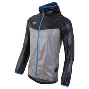 Mens Pursuit Barrier LT Hoodie (Black/Monument Grey)