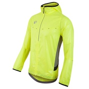 Mens Pursuit Barrier LT Hoodie (Screaming Yellow/Monument Grey)