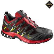 Mens XA Pro 3D GTX Shoes (Radiant Red/Black/Gecko)
