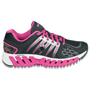 Womens Blade-Max Stable Shoes (Black/Neon Pink/silver)