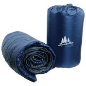 Base Camp Blanket (Navy/Grey)