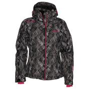 Womens Zekali Snowboard Jacket (Black)