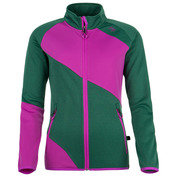 Womens Bonnata Fleece Jacket (Green)