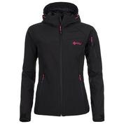 Womens Safira Softshell Jacket (Black)