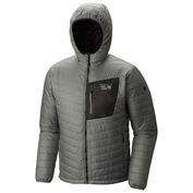 Mens Thermostatic Hooded Jacket (Thunderhead Grey)