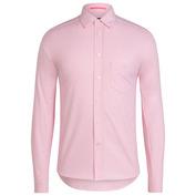 Mens Cotton Oxford Shirt (Pink)
