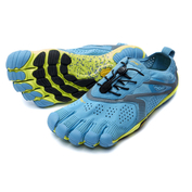 Mens V-Run Shoes (Blue/Yellow)