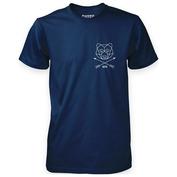Mens Bare Arrow T-Shirt (Navy)