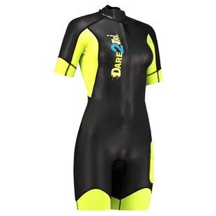 Dare2Tri. Womens Swimrun Go Wetsuit (Black Yellow) 0df57517f