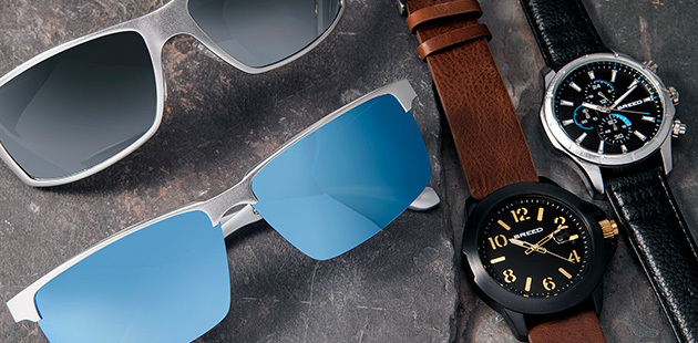Breed Sunglasses and Watches